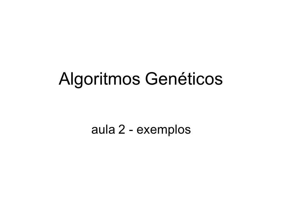 Topics 1.Introduction 2.Artificial Life 3.The Simula++ 4.Genetic Operators 5.Food Foraging Problem 6.Final Considerations and Further Works
