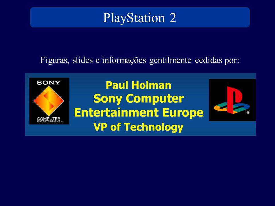 PlayStation 2 Figuras, slides e informações gentilmente cedidas por: