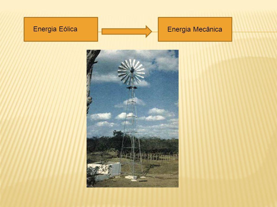 Energia Eólica Energia Mecânica