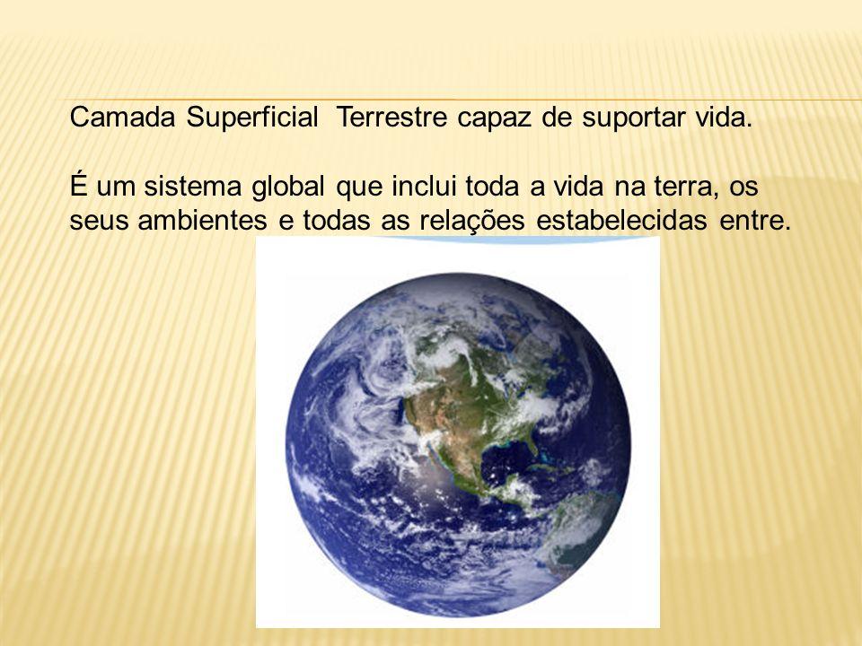 Biosfera é o espaço da vida que envolve o planeta Terra.