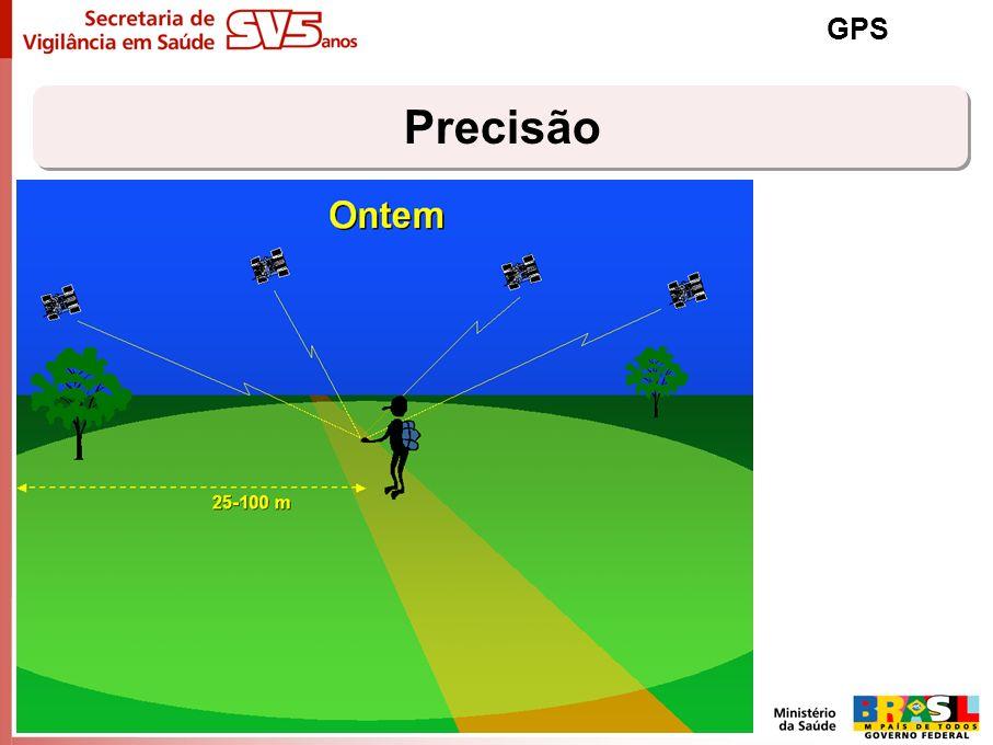 Precisão GPS