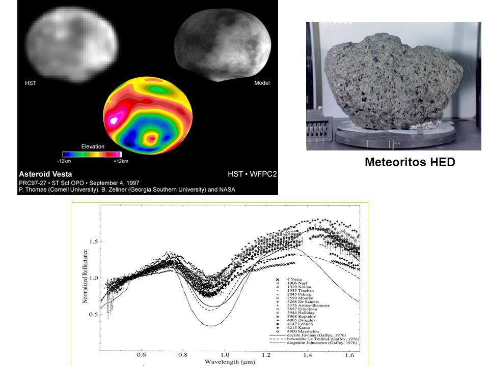 Meteoritos HED