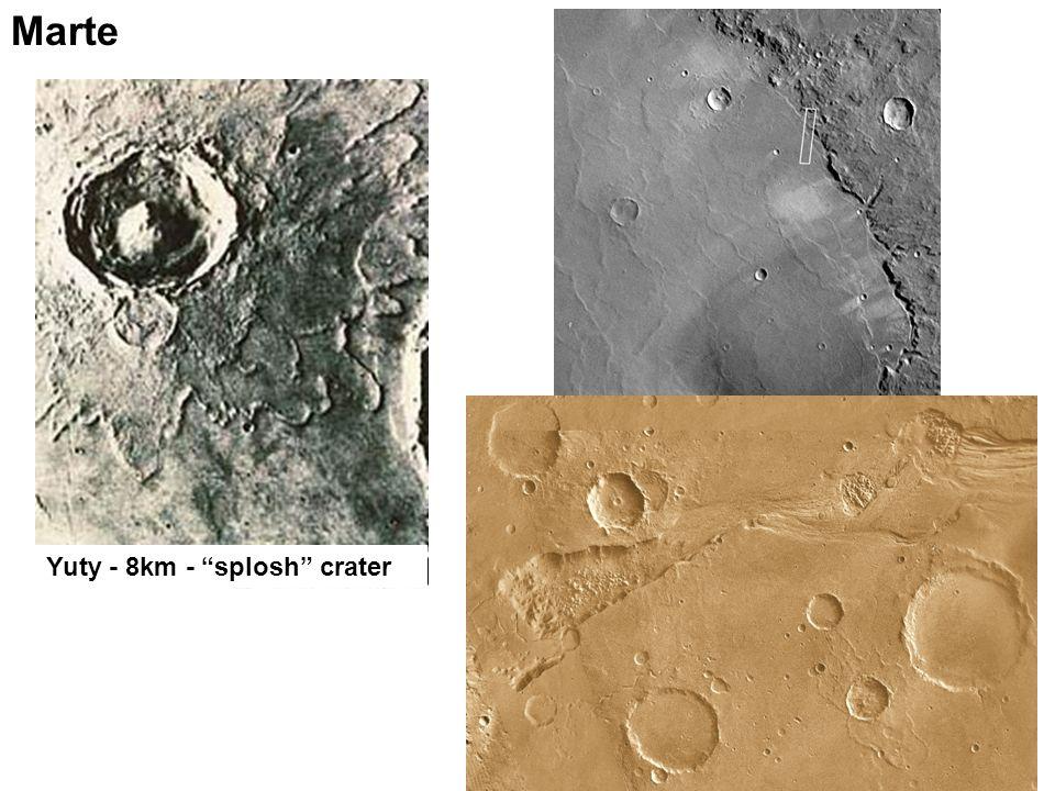 Marte Yuty - 8km - splosh crater