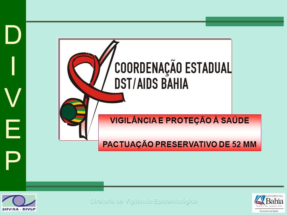 DIVEPDIVEP VIGILÂNCIA E PROTEÇÃO À SAÚDE PACTUAÇÃO PRESERVATIVO DE 52 MM