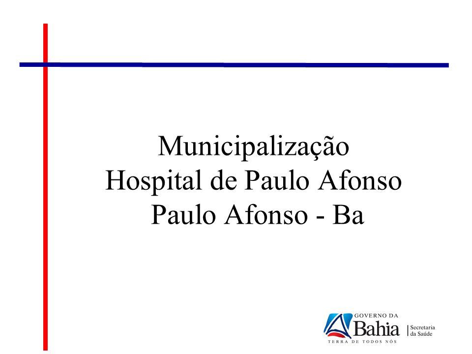 Cenário Atual Hospital Paulo Afonso Serviços Terceirizados: SM – Assessoria Empresarial e Gestão Hospitalar; Valor Mensal: R$ 391.000,00 Valor Anual: R$ 4.692.000,00 Ass.