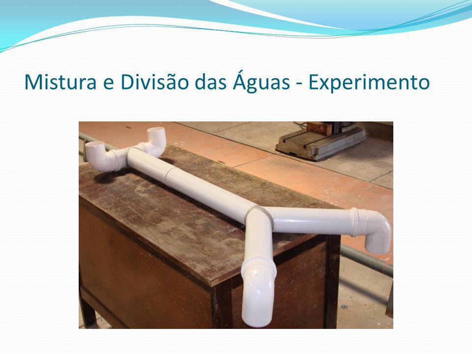 Mistura e Divisão das Águas - Experimento