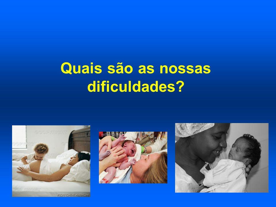 Quais são as nossas dificuldades?