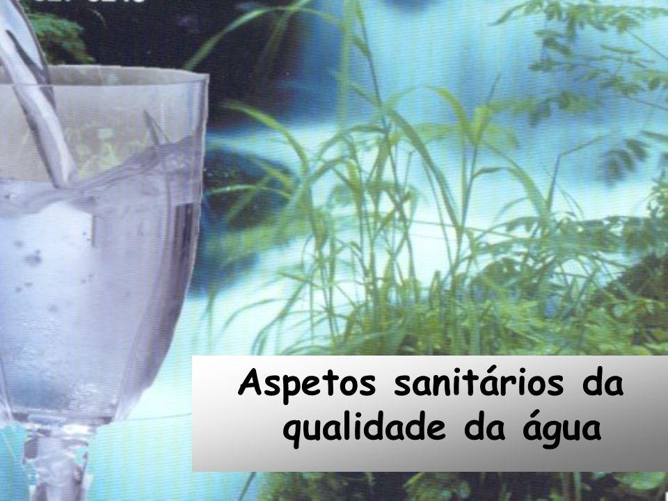 Aspetos sanitários da qualidade da água