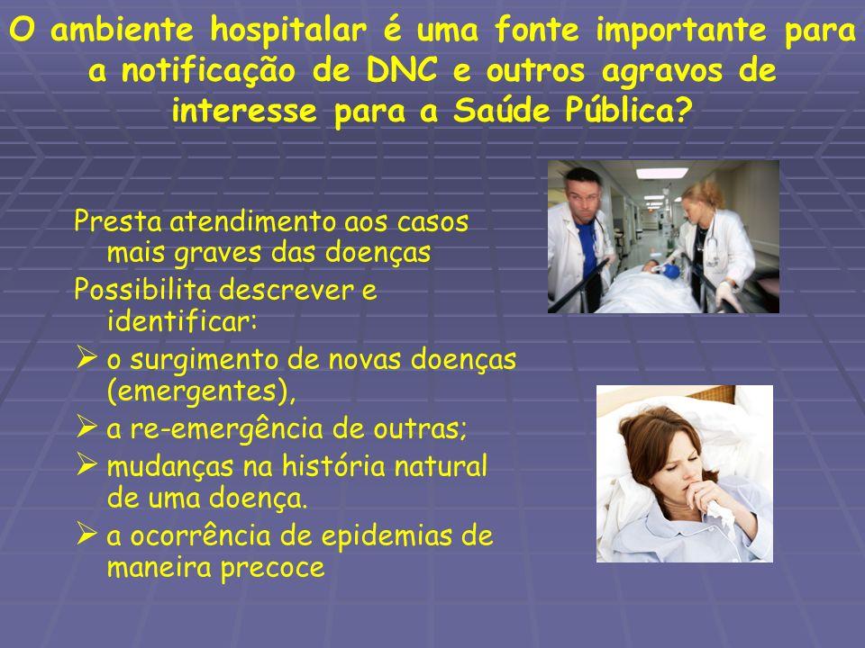 O ambiente hospitalar...
