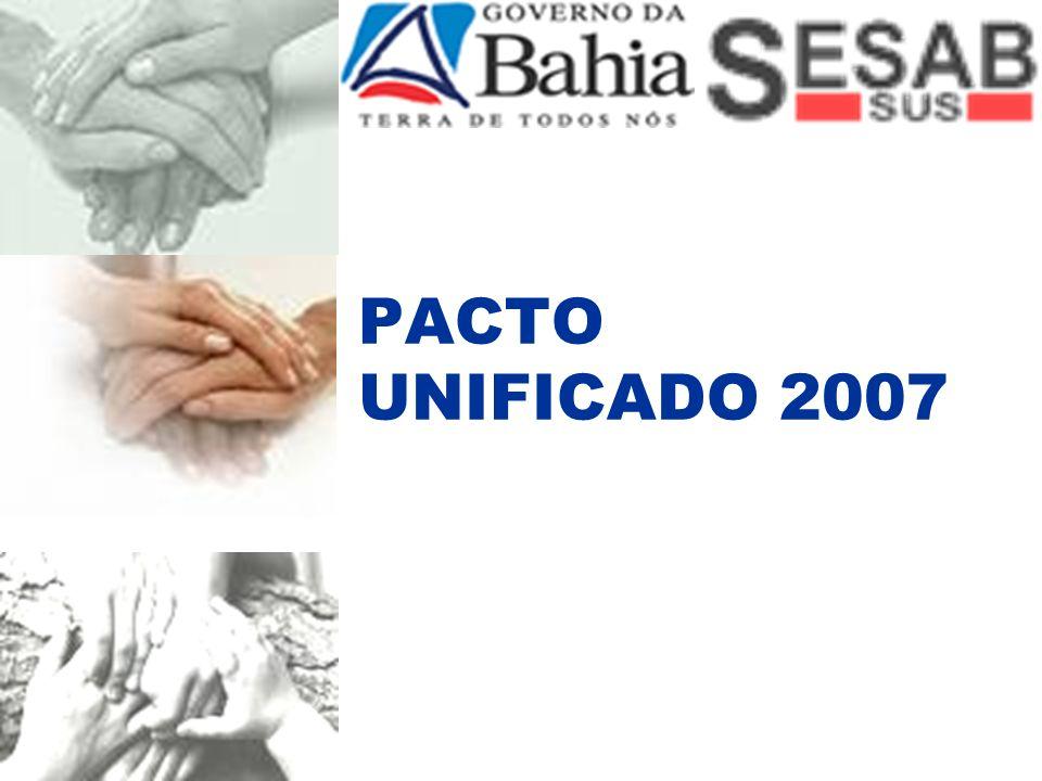 PACTO UNIFICADO Portaria nº91/GM de 10 de janeiro de 2007.