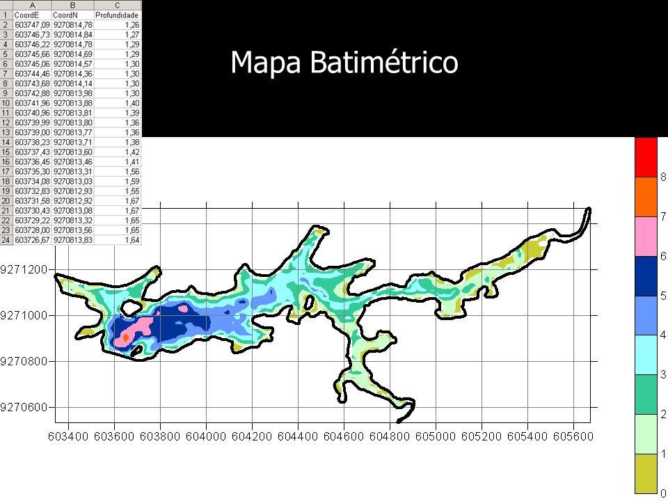 Mapa Batimétrico