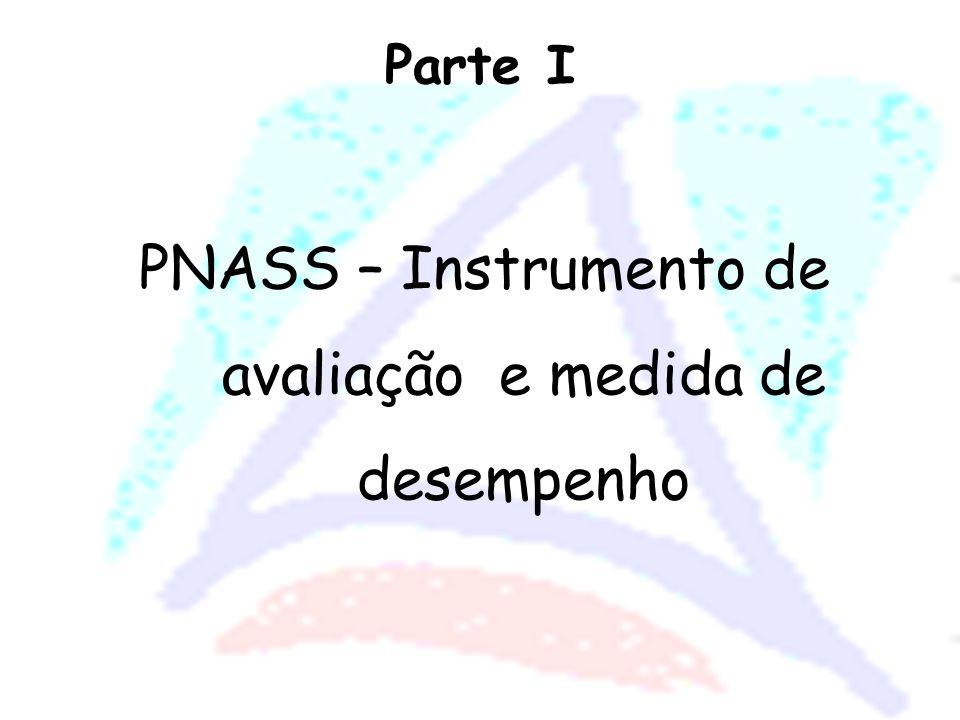 O PNASS tem por objetivo avaliar os serviços do Sistema Único de Saúde nas dimensões de estruturas, processos e resultados relacionados ao risco, acesso e satisfação dos cidadãos frente aos serviços prestados.
