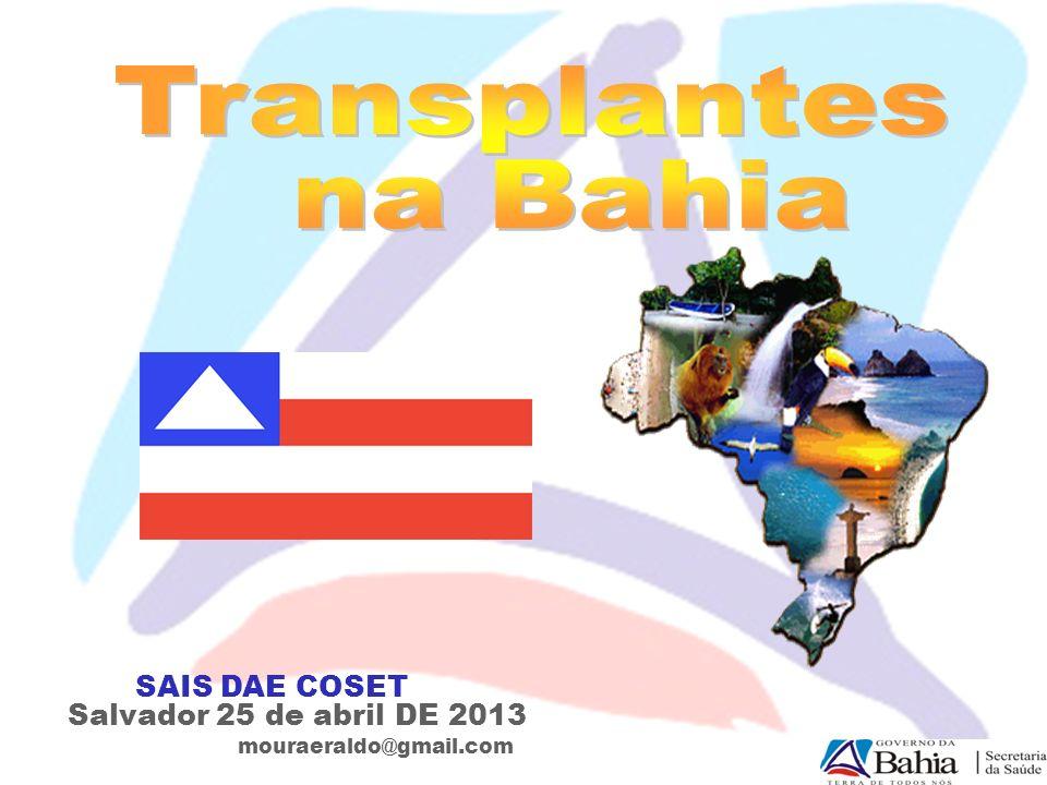 Sistema Nacional de Transplantes Brasil é o maior sistema público de transplantes do mundo – 95% das cirurgias são feitas no SUS.