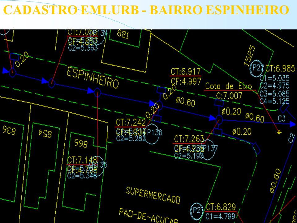 CADASTRO EMLURB - BAIRRO ESPINHEIRO