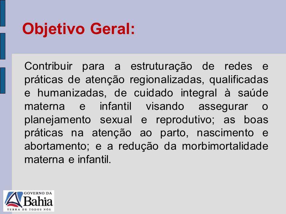 24/05/11 Contribuir para a estruturação de redes e práticas de atenção regionalizadas, qualificadas e humanizadas, de cuidado integral à saúde materna