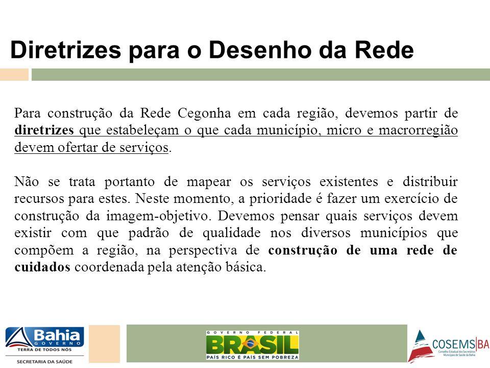 24/05/11 Para construção da Rede Cegonha em cada região, devemos partir de diretrizes que estabeleçam o que cada município, micro e macrorregião devem