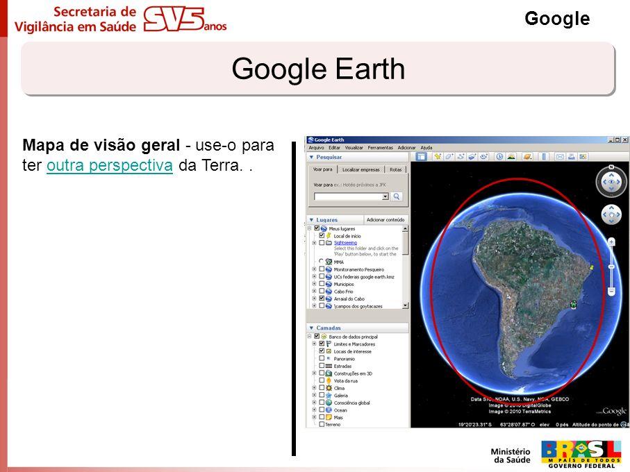 Compartilhando marcadores Google Salvar os marcadores: EM Arquivo/Salvar Lugar Como Ou com o lado direito do mouse, na janela Lugares O formato padrão do google é o arquivo *.kmz