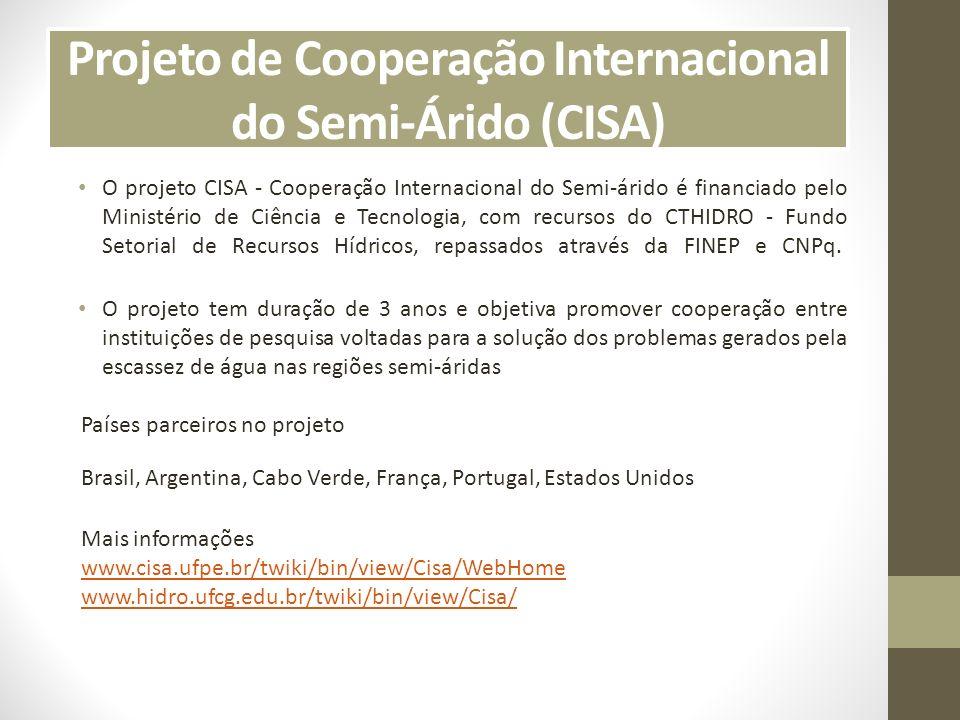 Universidade Federal de Campina Grande (UFCG) Figura 1 – Localização da cidade de Campina Grande e UFCG Mais Informações: www.ufcg.edu.br www.hidro.ufcg.edu.br/