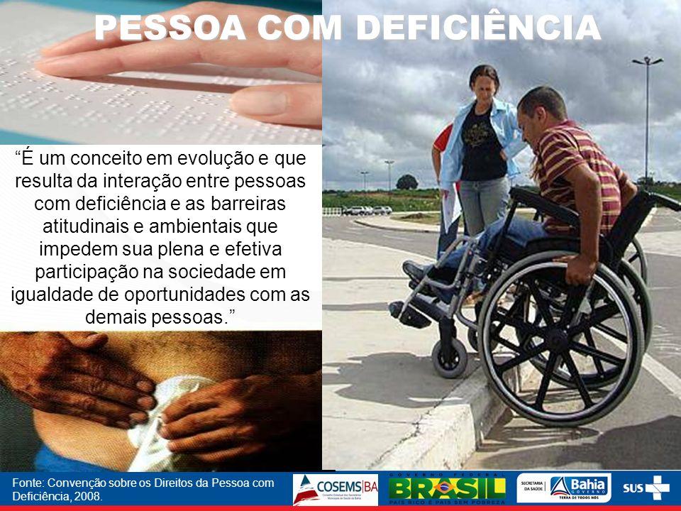 Fonte: Convenção sobre os Direitos da Pessoa com Deficiência, 2008.