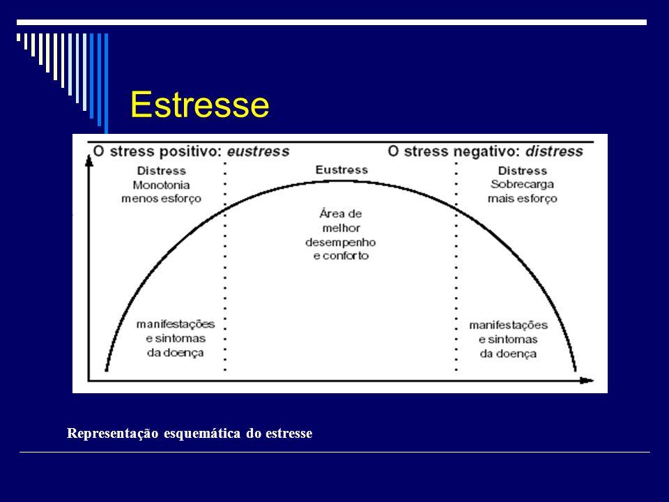 Representação esquemática do estresse