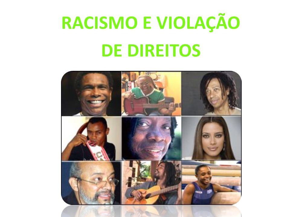 RACISMO E VIOLAÇÃO DE DIREITOS