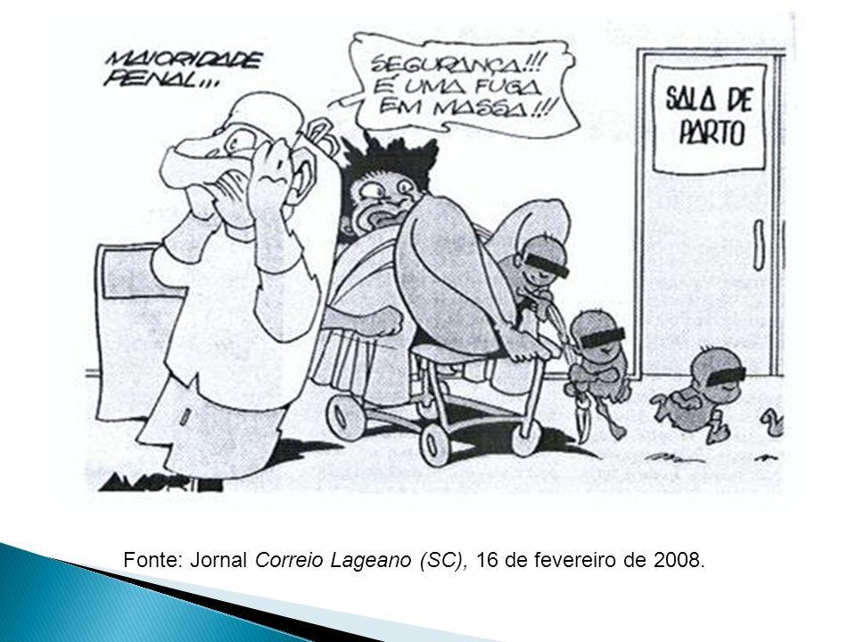 Fonte: Jornal Correio Lageano (SC), 16 de fevereiro de 2008.