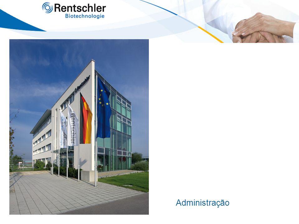 S ERVIÇOS Registro de produtos O desenvolvimento dos produtos e a documentação correspondente para registro são garantidas devido a excelentes contatos da Rentschler Biotechnologie com autoridades européias e a sua habilidade em desenvolvimento e registro de produtos farmacêuticos.