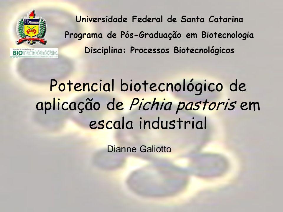 Universidade Federal de Santa Catarina Programa de Pós-Graduação em Biotecnologia Disciplina: Processos Biotecnológicos Potencial biotecnológico de ap