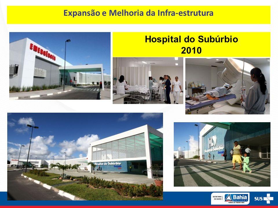Hospital do Subúrbio 2010 Expansão e Melhoria da Infra-estrutura