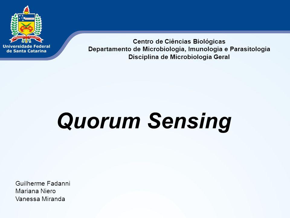 Centro de Ciências Biológicas Departamento de Microbiologia, Imunologia e Parasitologia Disciplina de Microbiologia Geral Guilherme Fadanni Mariana Ni