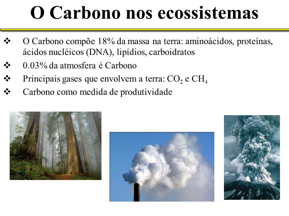 A Matéria Orgânica do Solo (MOS) Deposição de materiais orgânicos no solo a) Vegetação - Necromassa (serapilheira e resteva) – regulada pelo aporte e sua decomposição; - Rizodeposição b) Adições de resíduos Composição de Materiais Vegetais Depositados no Solo 20 a 50% - Celulose 10 a 30% - Hemicelulose 5 a 30% - Lignina 2 a 15% - Proteína 10% - Substâncias solúveis Ceras, gorduras