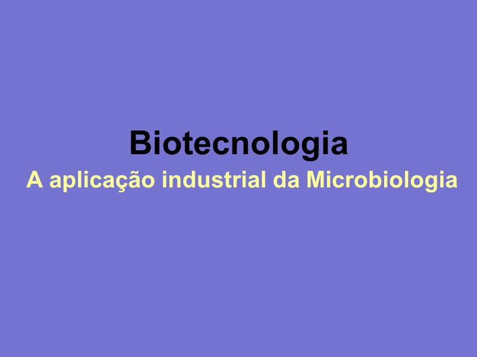 Biotecnologia A aplicação industrial da Microbiologia