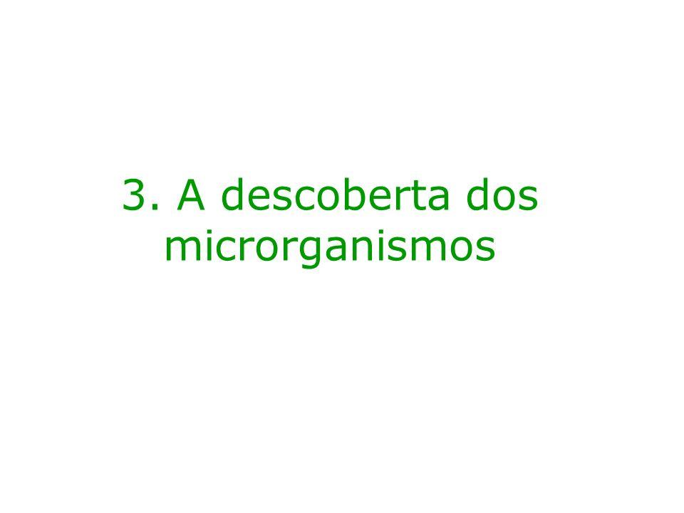 3. A descoberta dos microrganismos