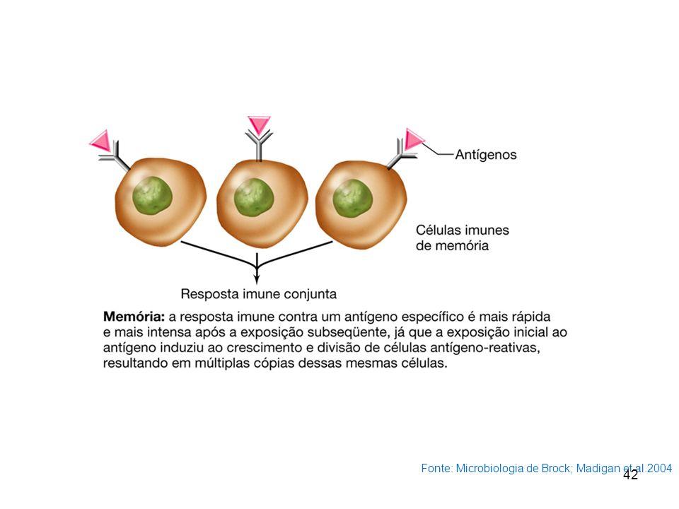 Fonte: Microbiologia de Brock; Madigan et al.2004 42