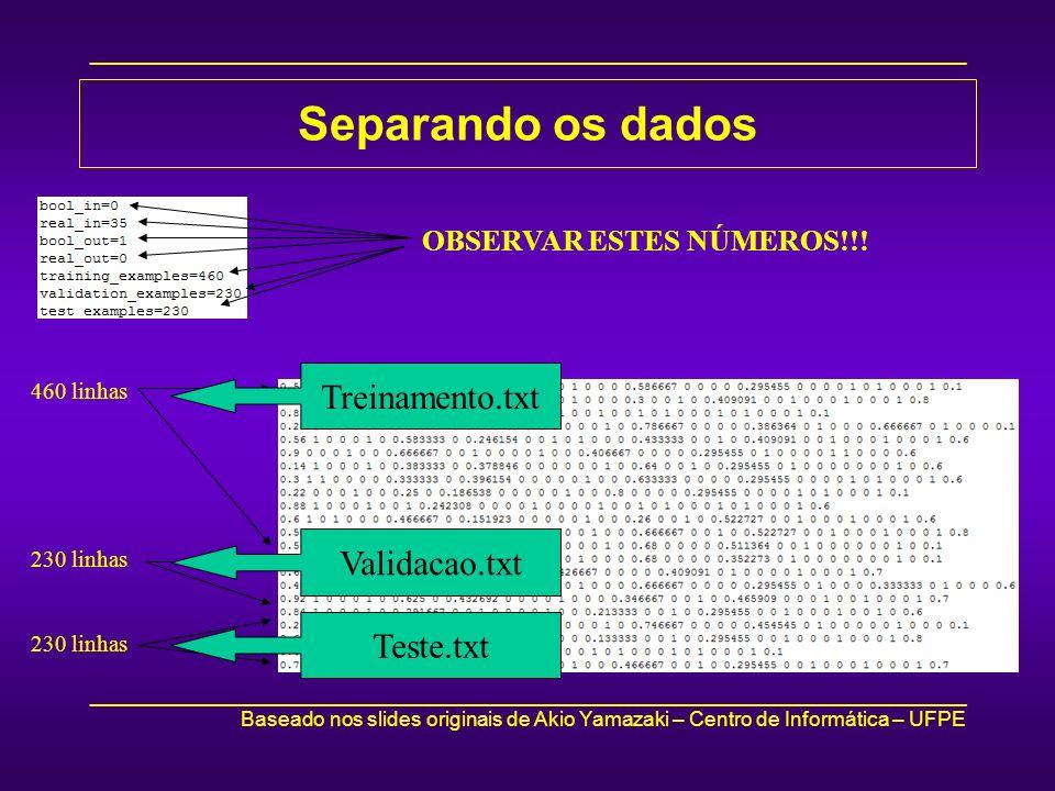_____________________________________________________________________________ Baseado nos slides originais de Akio Yamazaki – Centro de Informática –