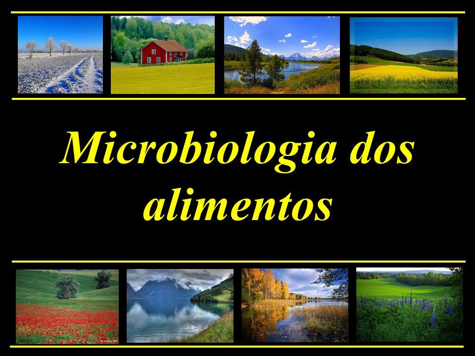 * alimentos como meio de crescimento para microrganismos - deterioração - disseminação de infecções - intoxicações - produção de alimentos - conservação de alimentos 1.