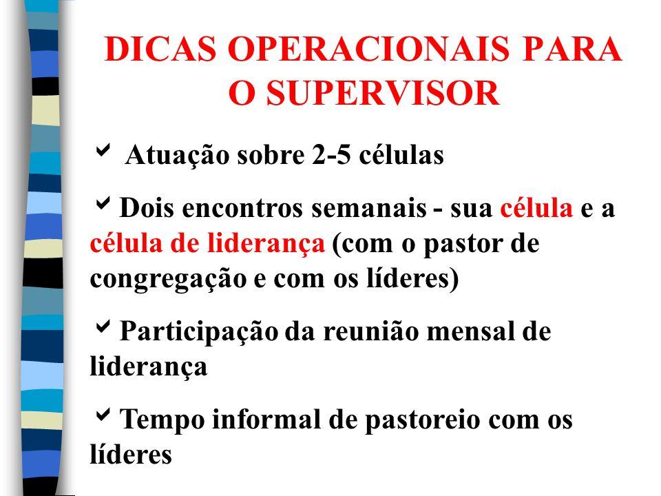 Chave para o sucesso do supervisor: RELACIONAMENTOS