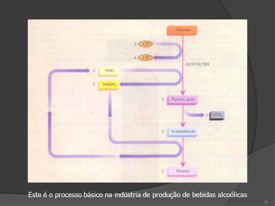 Este é o processo básico na indústria de produção de bebidas alcoólicas 39