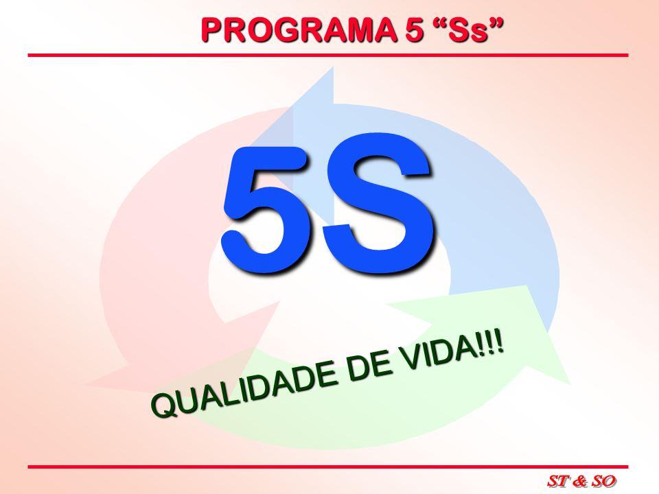 PROGRAMA 5 Ss 5S5S5S5S QUALIDADE DE VIDA!!!