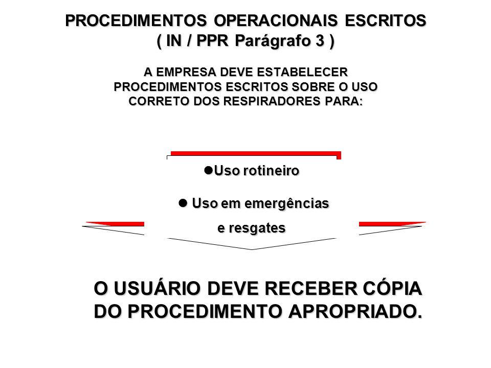 ADMINISTRAÇÃO DO PPR ( IN / PPR Parágrafo 2 ) AUDITORIA DEVE ABRANGER, NO MíNIMO: Administração do programa Treinamento Avaliação médica Avaliação amb