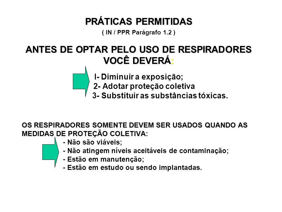 TREINAMENTO ( IN / PPR Parágrafo 6 ) TREINAMENTO DO USUÁRIO PROGRAMA MÍNIMO: Necessidade do uso; Riscos de exposição; Necessidade do uso; Riscos de exposição; Problemas de uso e a sua solução; Problemas de uso e a sua solução; Proteção coletiva: como vai.