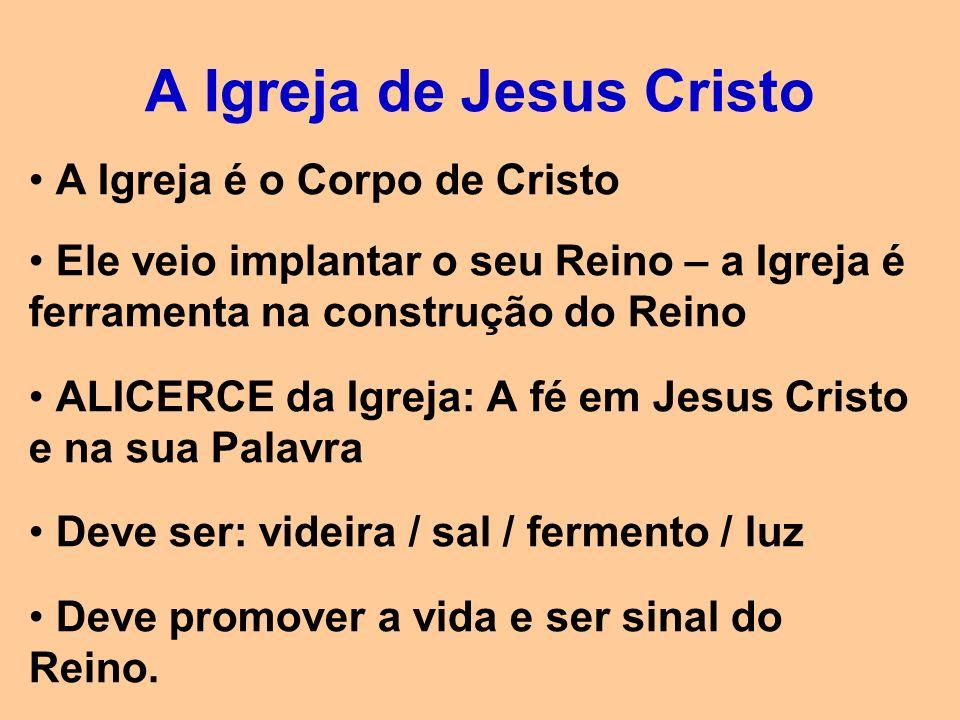 A Igreja deve ser: 1.Uma Igreja de Deus (a quem sirvo, e não que me serve) 2.Uma Igreja do ser humano (não de anjos.
