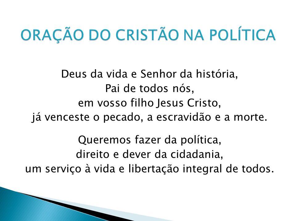Concedei-nos construir um Brasil novo, na vivência fraterna, no respeito às diferenças, sem exclusão e sem privilégios, onde se abracem a justiça e a paz.