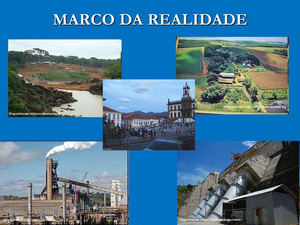 MARCO DA REALIDADE Disponível em: http://www.discovernikkei.org Disponível em: http://www.uai.com.br Disponível em : http://www.candonga.com.br Dispon