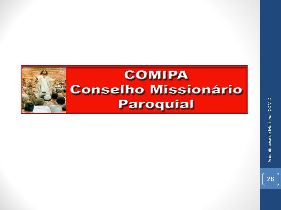 28 Arquidiocese de Mariana - COMIDI