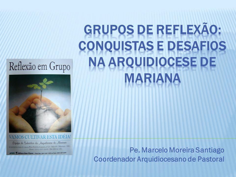 Pe. Marcelo Moreira Santiago Coordenador Arquidiocesano de Pastoral