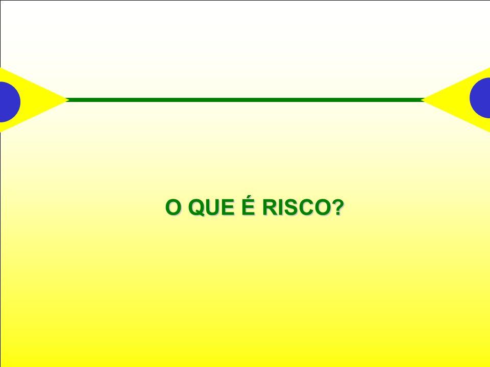 O QUE É RISCO?
