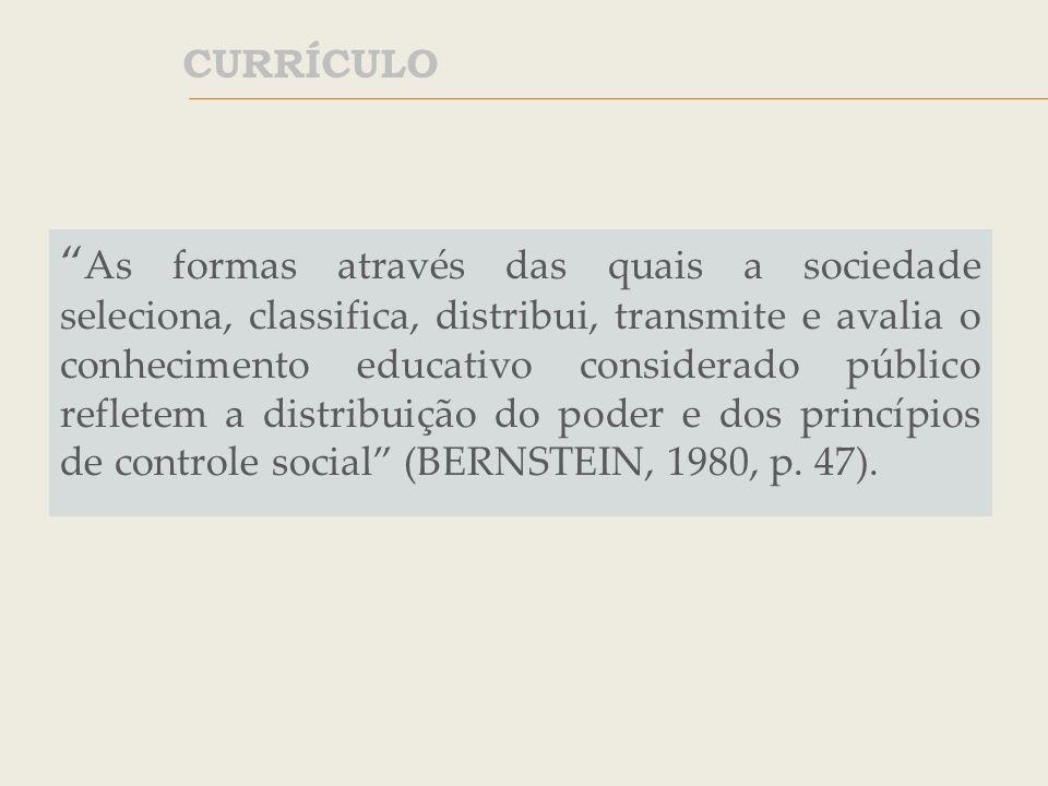 O currículo modela-se dentro de um sistema escolar concreto, dirige-se a determinados professores e alunos, serve-se de determinados meios, cristaliza, enfim, num contexto, que é o que acaba por lhe dar o significado real (SACRISTÁN, 2000, p.