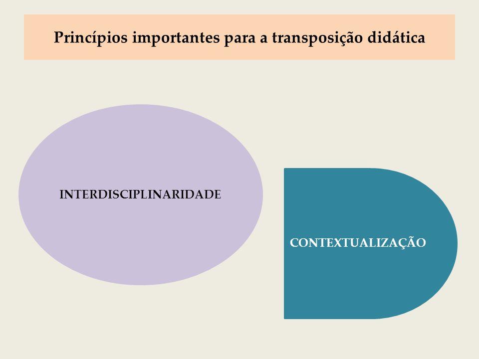 CONTEXTUALIZAÇÃO Re-enraizamento do conhecimento ao seu contexto original Estratégia de construção de significações