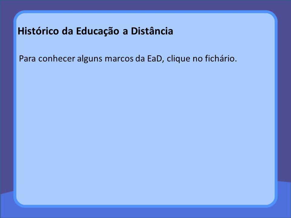 Hum... mas qual é o principal interesse da EaD no Brasil?